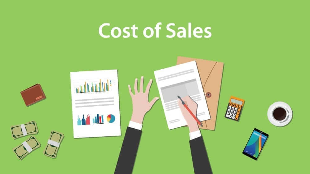 Cost of sales - profit and loss statement