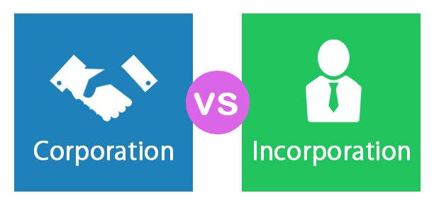 Corporation (or Incorporation)